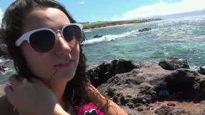 Lily Adams get wild with you in Hawaii POV style